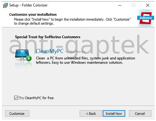 Setup Folder Colorizer2